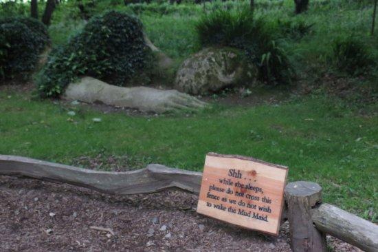 St Austell, UK: Shh, the Mud Maid is asleep