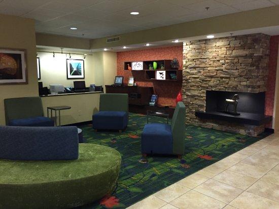 Fairfield Inn & Suites Charlottesville North : lobby area