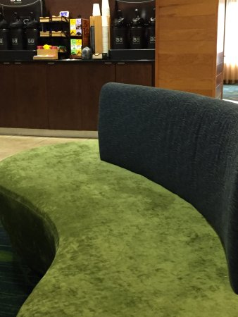 Fairfield Inn & Suites Charlottesville North : lobby seating
