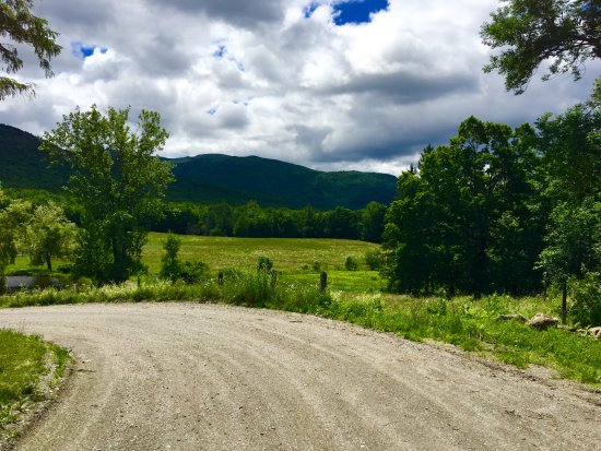 Huntington, VT: Road in to Windekind Farm