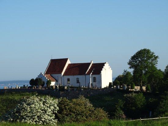 Landskrona, Szwecja: S:t Ibb in morning sun