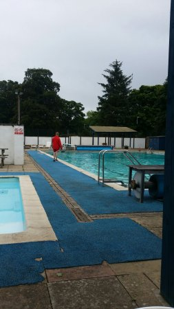 Stanhope, UK: Weardale Open Air Swimming Pool