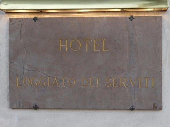 Hotel Loggiato dei Serviti: Hotel Loggiato near the Galleria dell 'Accademia