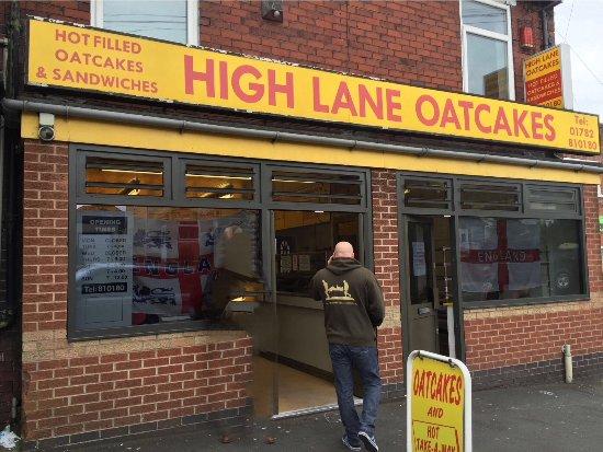 Burslem, UK: High Lane Oatcakes
