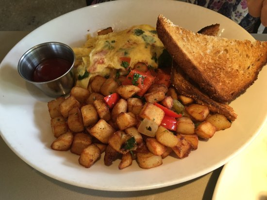 Westmont, IL: Veggie omelette