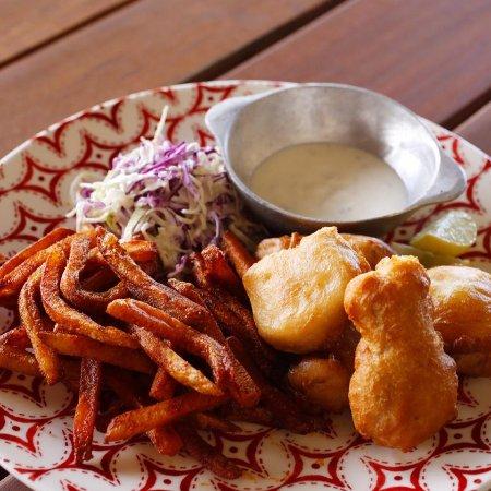 Playa Venao, Panamá: Fish and fries!