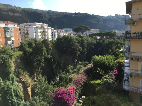 Antiche Mura Hotel: View of river valley below