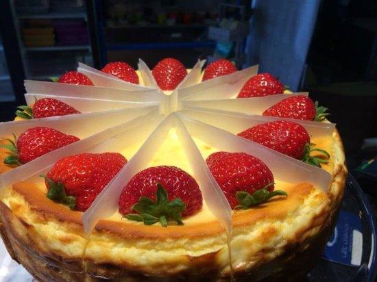 St Mawes, UK: New York Cheesecake