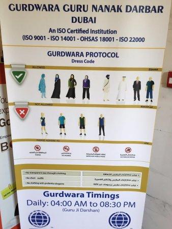 Dresscode Picture Of Gurunanak Darbar Sikh Temple Dubai Tripadvisor