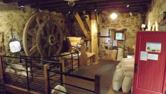 L 39 int rieur du moulin encore en activit photo de for Activite interieur