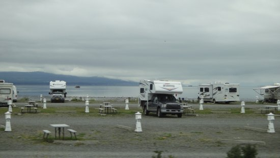 Heritage RV Park: PARKING RV
