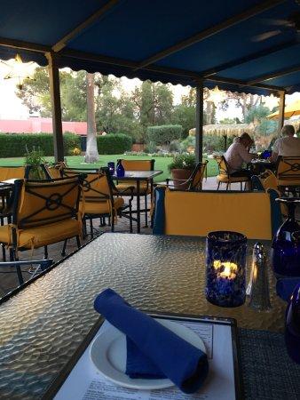 Arizona Inn Audubon Bar : terrasse