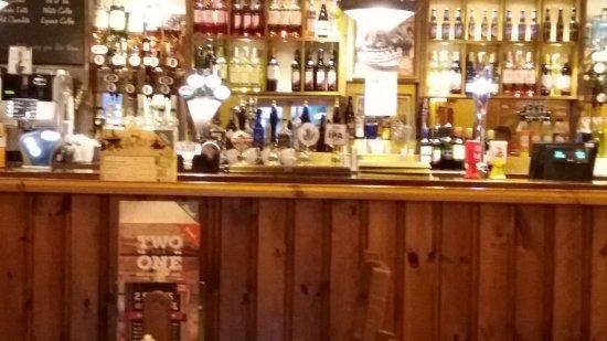 Shardlow, UK: the bar