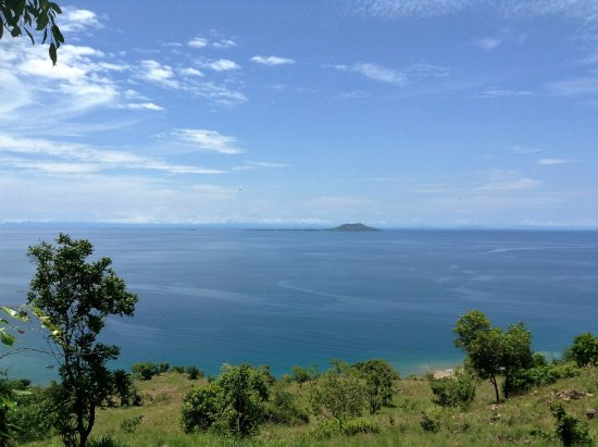 Likoma Island, Malawi: Chizumulu from the top of the hill where the phone mast is