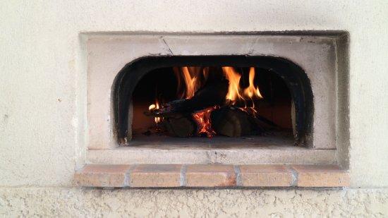 La Palme, Francia: The pizza oven