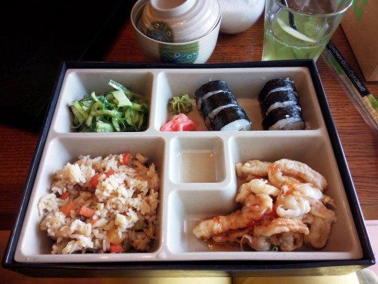 Wok-Cafe Maneki: Вот такой вот бенто-ланч