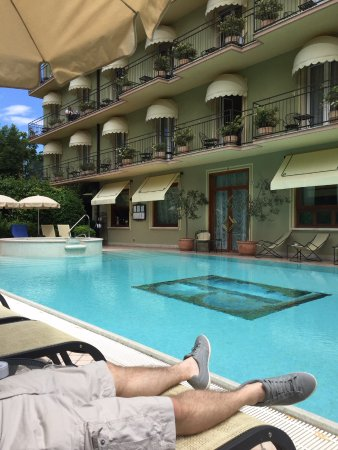 Swimming pool picture of palace hotel san pietro - Hotels in verona with swimming pool ...