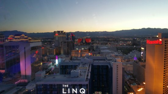 view from the high roller picture of the linq hotel casino las rh tripadvisor com