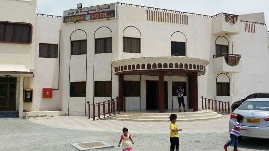 Masirah Island, Oman: Masirah hotel