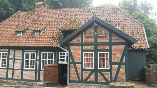 Lauenburg an der Elbe, Germany: Il Caminetto