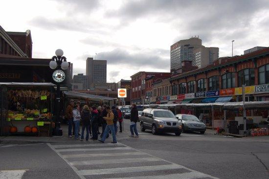 Ottawa. CanadaSeptembert. The Market.