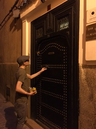 Riad Altair: Just in case the door helps you find it!