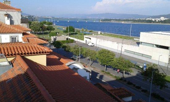 Hotel Jardim Viana Do Castelo: Vista dalla finestra della mia stanza