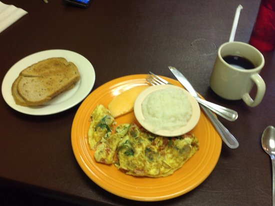 St. Marys, Τζόρτζια: Special order-vegetarian omelet.