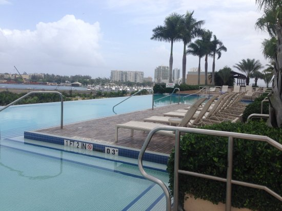 Sheraton Puerto Rico Hotel & Casino: Genial la Vista hacia el Viejo San Juan