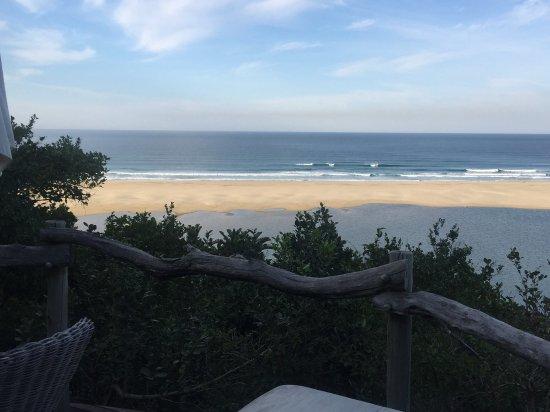 Port St Johns, Sudáfrica: Spa view