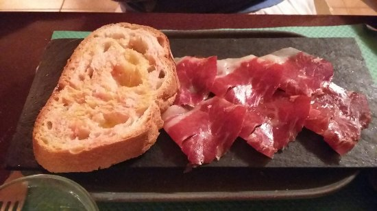 Llers, Ισπανία: Pa amb tomàquet i pernil