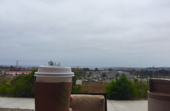 Pacific Views Lodge: Nice views, lovely balcony that's perfect for morning coffee & evening sunsets!