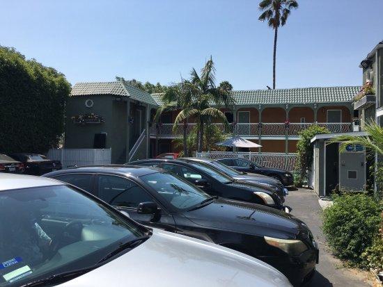 Estacionamientos Picture Of Rodeway Inn Hollywood Los