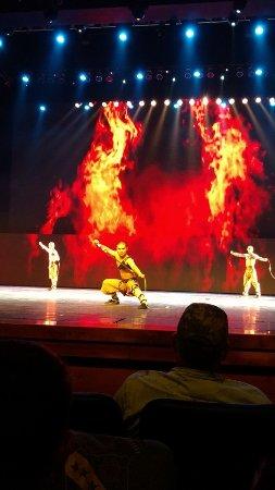 Legend Of Kung Fu: Great lighting