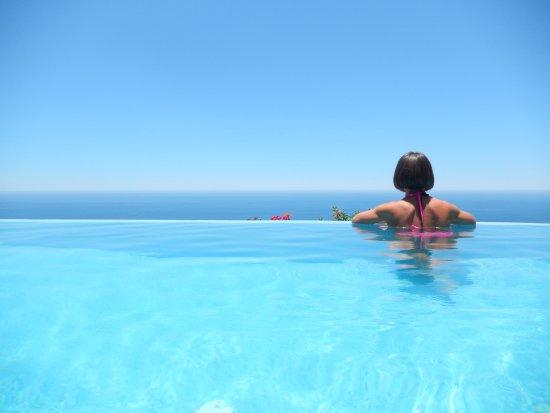 Montecristo Estates Pueblo Bonito: View from our private pool in Villa 36 in Phase I of Montecristo Estates.