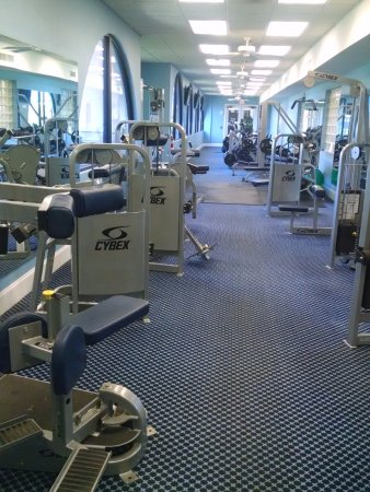 Howey in the Hills, Φλόριντα: Full service Fitness Center - shared with Country/Golf Club Members