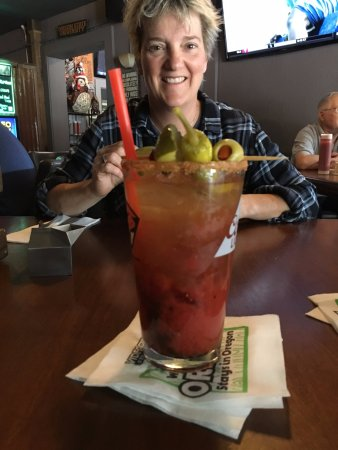 Ranee's on Main: Bloody Mary..................one of the best I've had!!!!
