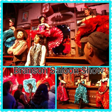 Branson, MO: Saloon show with dancing girls