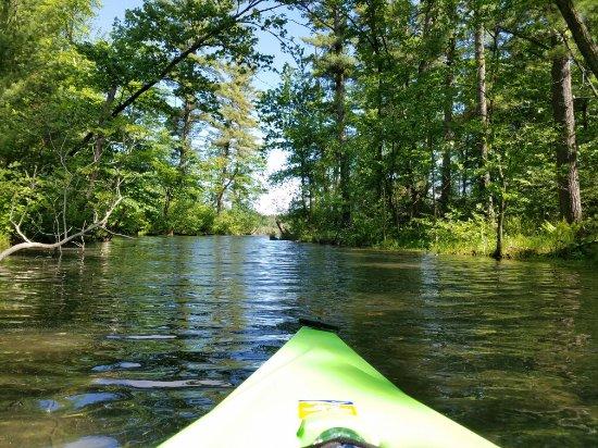 Hartman Creek State Park: Kayaking fun