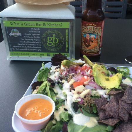 A vegan feast! - Picture of Green Bar & Kitchen, Fort Lauderdale ...