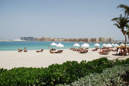 The Palace at One&Only Royal Mirage Dubai: Beach at hotel