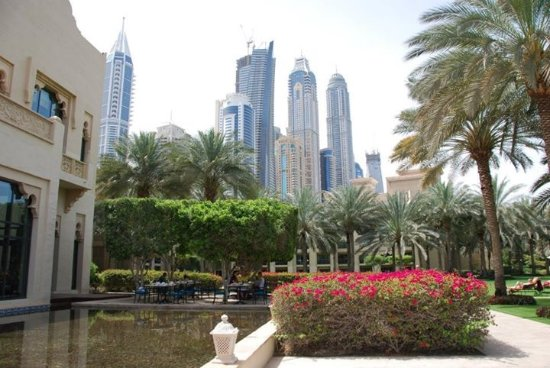 The Palace at One&Only Royal Mirage Dubai: Hotel grounds
