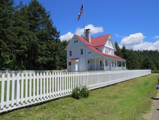 Florence, OR: The keepers house and now a B & B