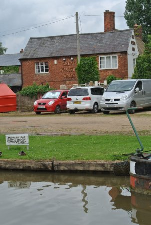 GWA is right near the canal, but closest pier part of Aynho Wharf Shop's moorings