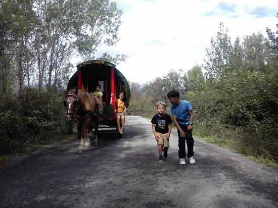 Villanueva de la Vera, สเปน: Los niños, los que más lo disfrutan