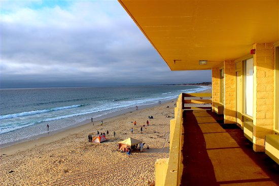 hotel view from the beach - Picture of Monterey Tides, a ...
