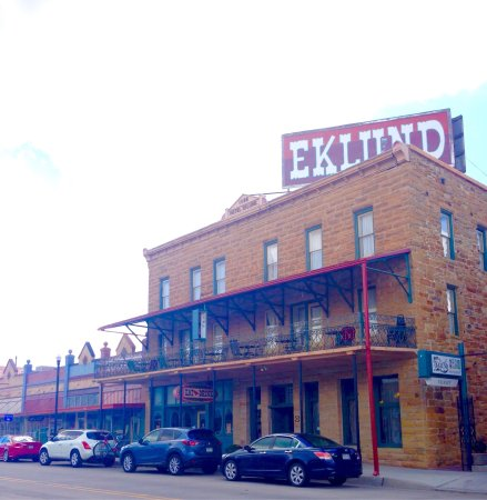 Hotel Eklund: Interesting little town