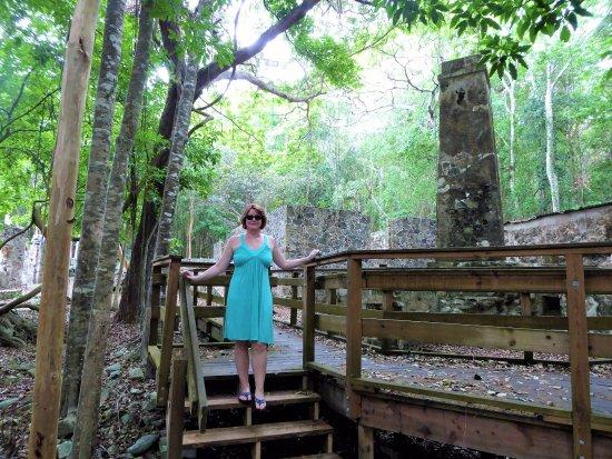 Cinnamon Bay : Hottie at the ruins