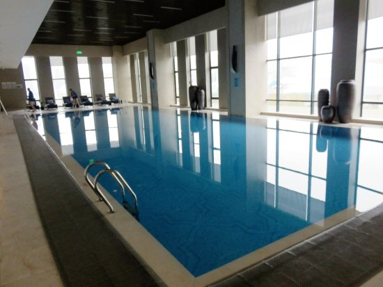 Jinhua, China: Indoor pool