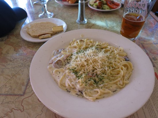 Arnold, Californie : linguini pasta